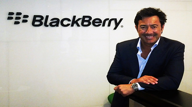 Antonio Reyes, BlackBerry