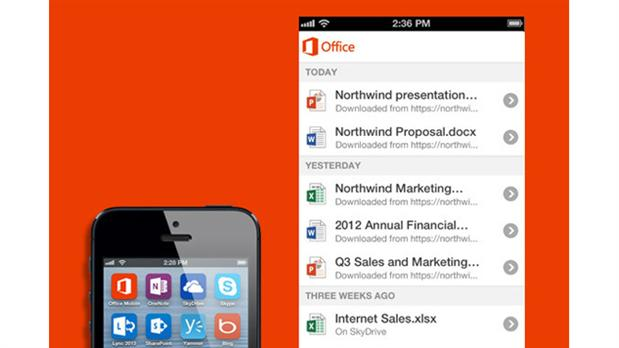 Office Mobile para iOS