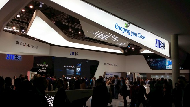 ZTE en el Mobile World Congress 2014