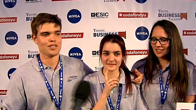 Alumnos de Tarragona ganan la final de Young Business Talent