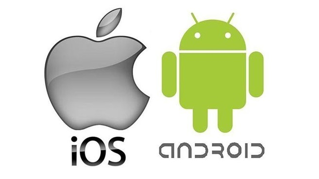 Android e iOS logo