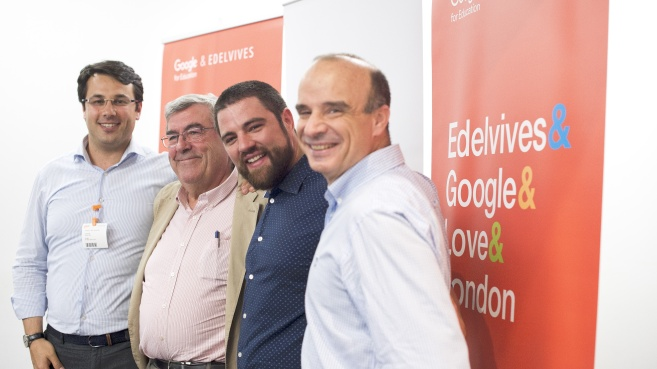 Grupo Edelvives, primer partner editorial de 'Google for Education'