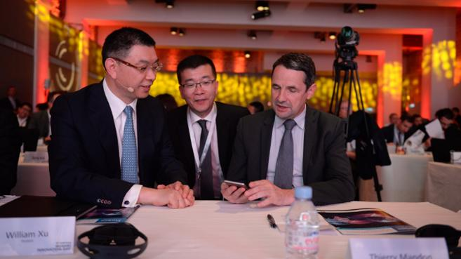 william xu y thierry madon, huaWEI INNOVATION DAY