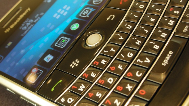BlackBerry curve teclado