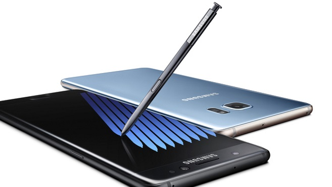 Galaxy Note 7 con S Pen