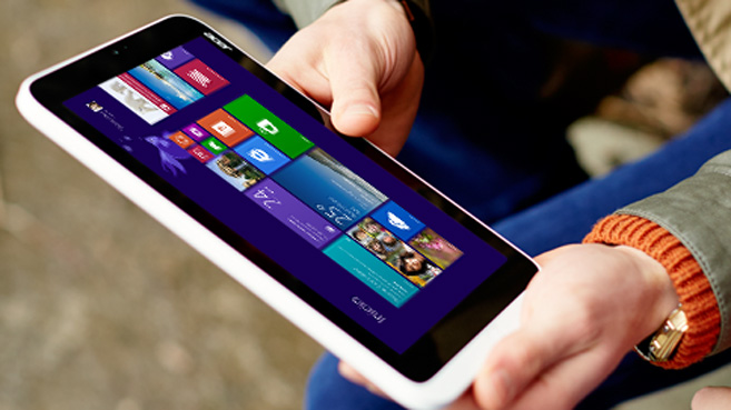 Windows 8.1 en un tablet