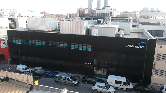Centro de datos de Interoute en Madrid