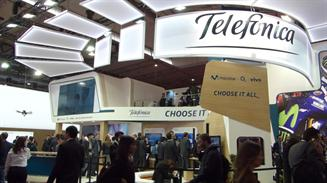 Telefonica MWC2016 stand